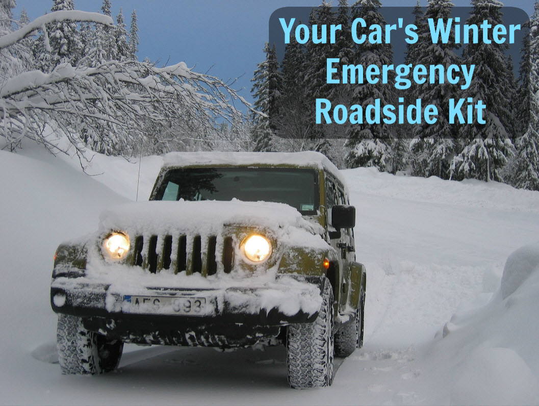 Your Car's Winter Emergency Roadside Kit