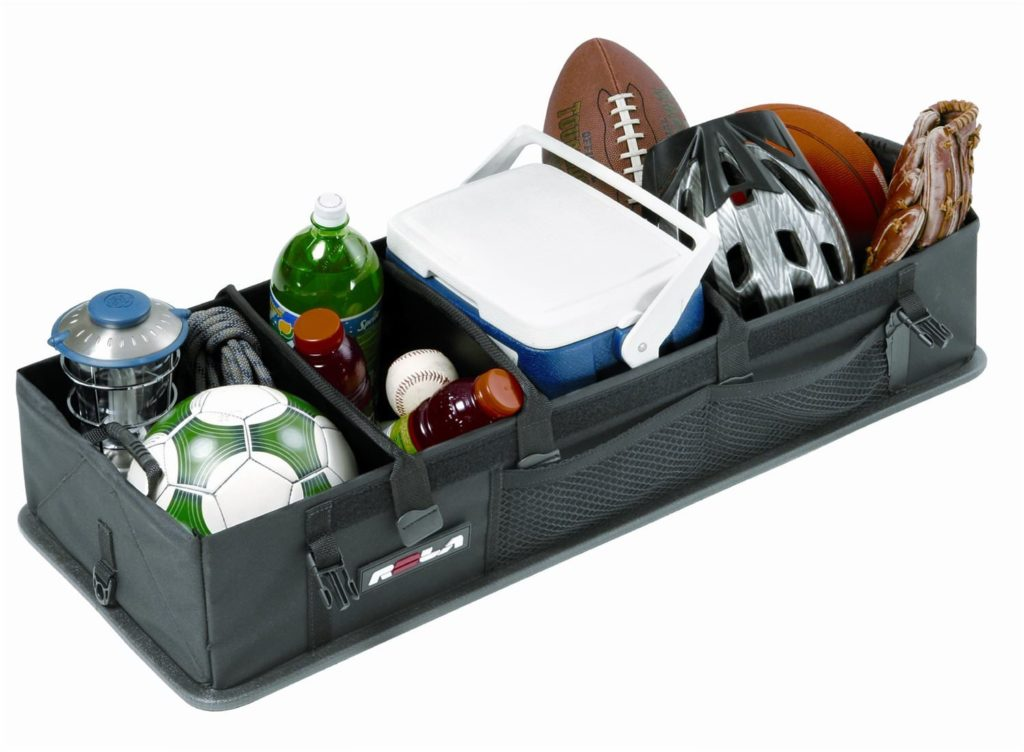Rola Car Organizer filler with a Cooler and Sports Equipment