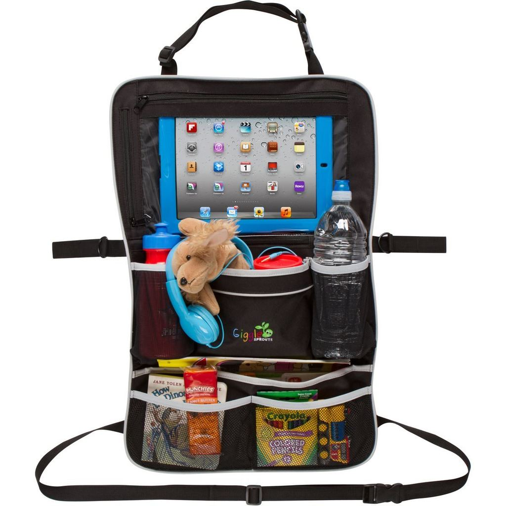 kids tablet and toy organizer