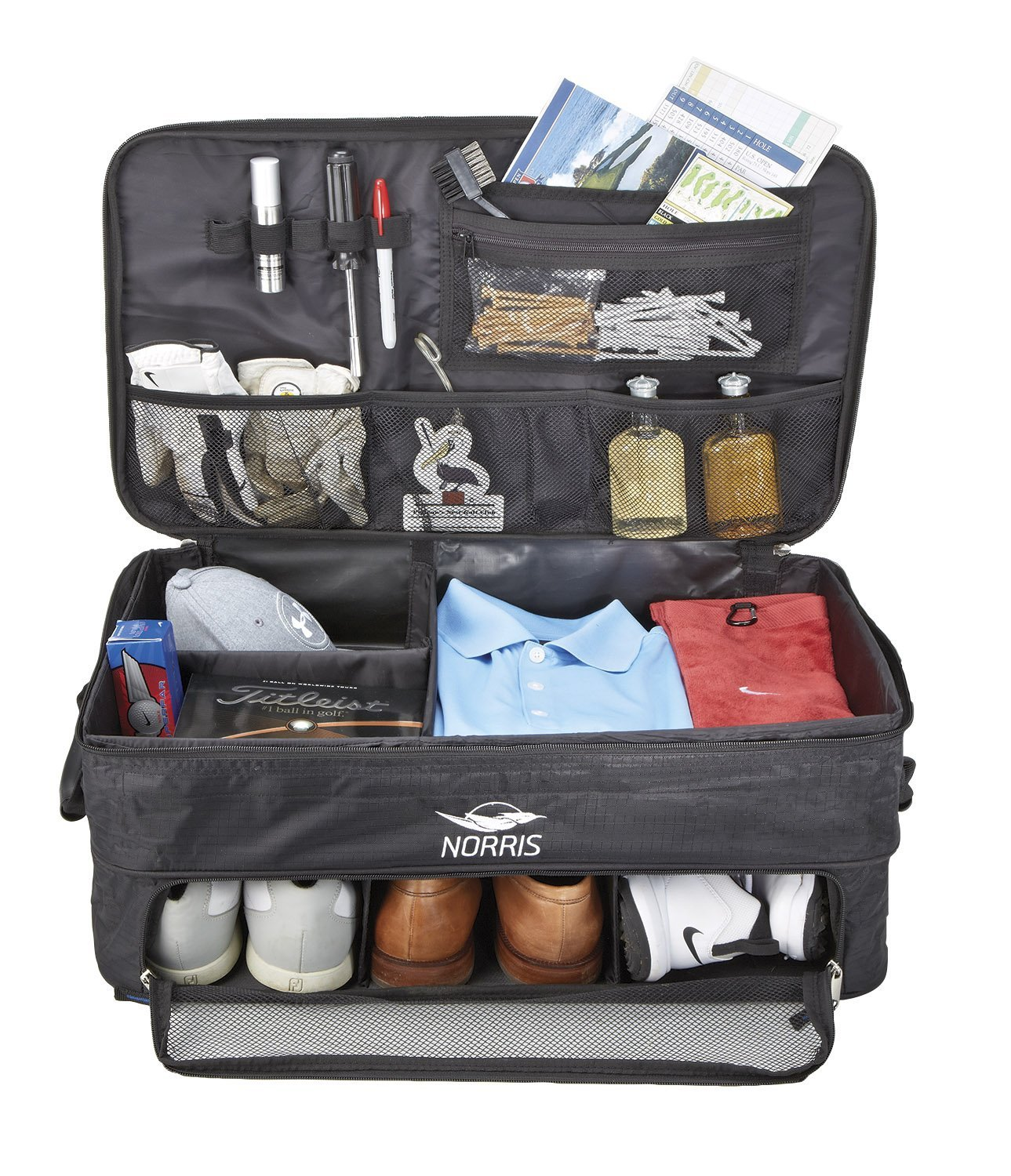 Norris Double Layer Trunk Organizer