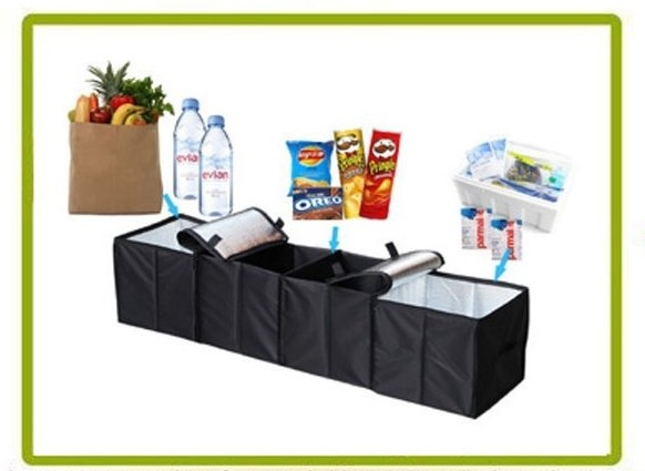 AutoArk Cooler Set with 2 cooler compartments