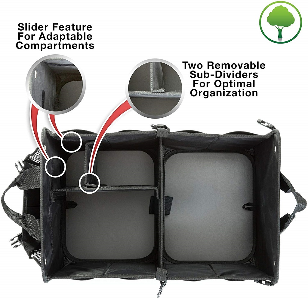 TrunkCrate Pro removable divider
