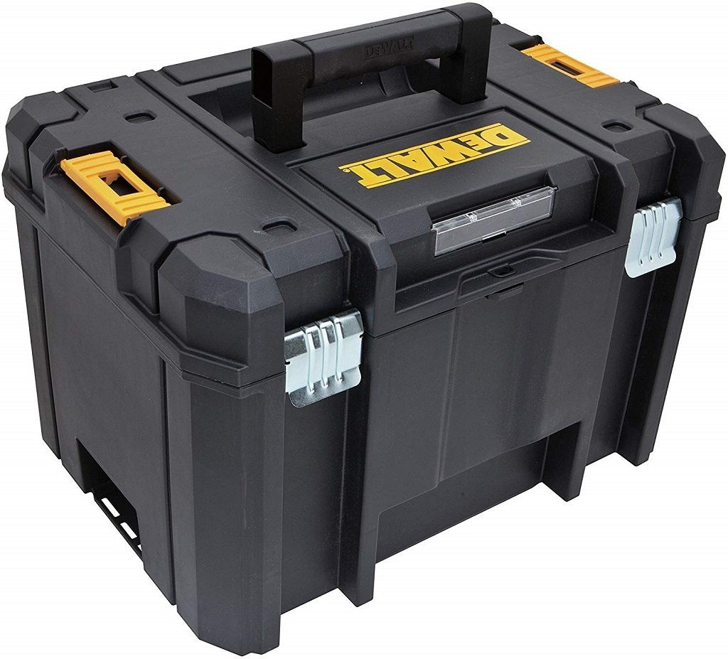 The DEWALT Tstak Tool Box