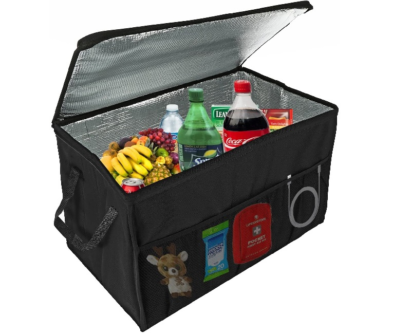 Insulated Car Console Organizer By Lebogner
